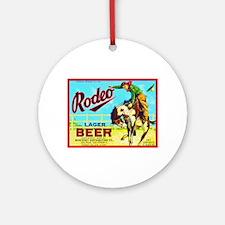 California Beer Label 2 Ornament (Round)