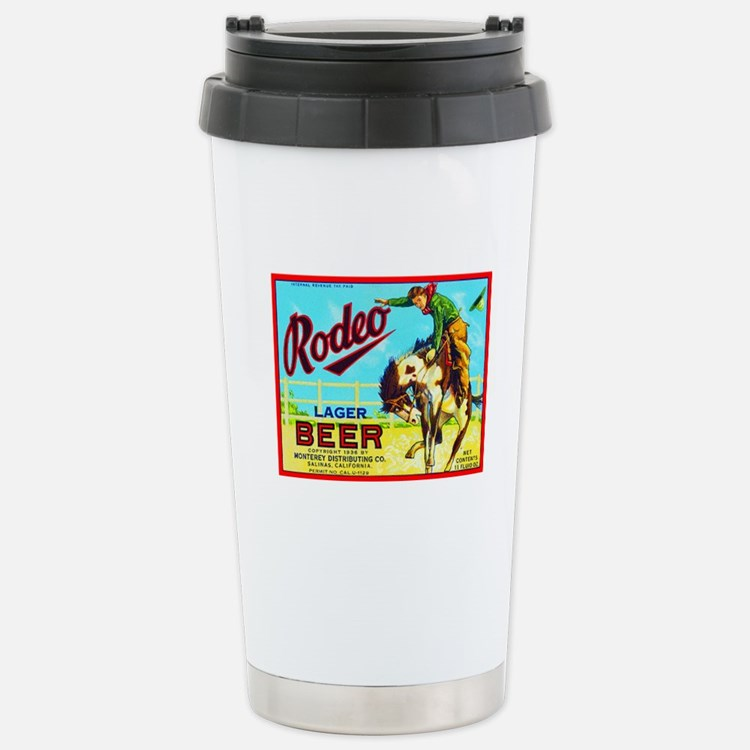 California Beer Label 2 Stainless Steel Travel Mug