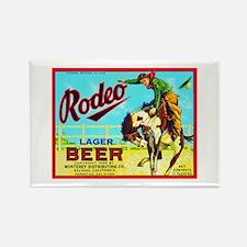 California Beer Label 2 Rectangle Magnet
