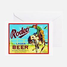 California Beer Label 2 Greeting Card