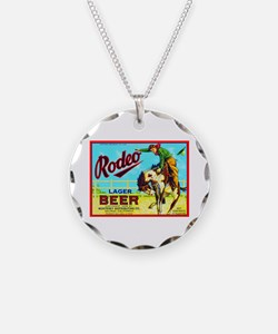 California Beer Label 2 Necklace