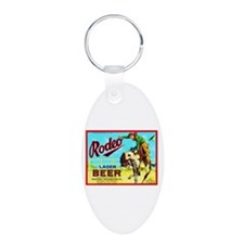 California Beer Label 2 Keychains