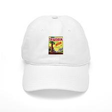 California Beer Label 3 Baseball Cap