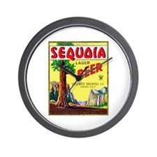 California Beer Label 3 Wall Clock
