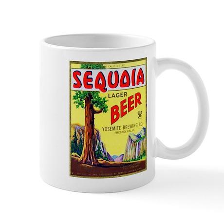California Beer Label 3 Mug