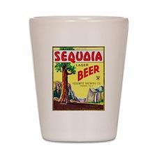 California Beer Label 3 Shot Glass