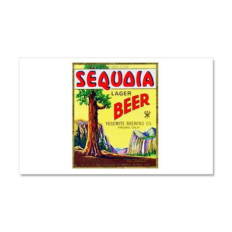 California Beer Label 3 Car Magnet 20 x 12