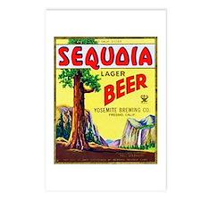 California Beer Label 3 Postcards (Package of 8)