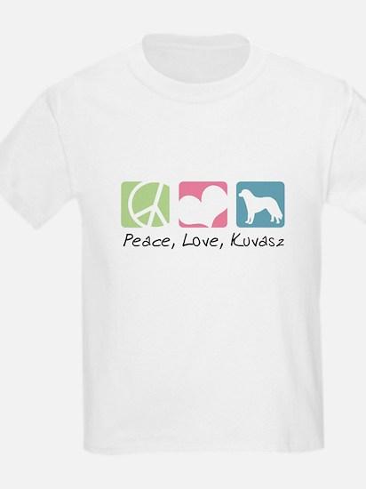 Peace, Love, Kuvasz T-Shirt