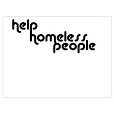 Help Homeless People Collecti Framed Print