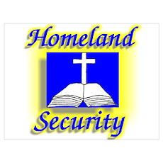 """""""Holy Homeland"""" Poster"""