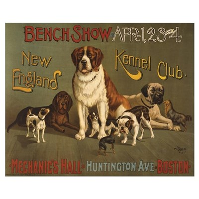 KENNEL CLUB 16x20 Poster