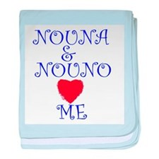 NOUNA AND NOUNO LOVE ME baby blanket