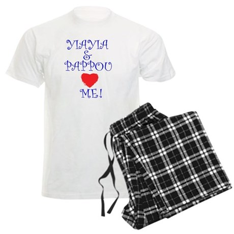 YIAYIA AND PAPPOU LOVE ME Men's Light Pajamas