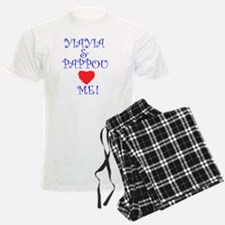 YIAYIA AND PAPPOU LOVE ME Pajamas