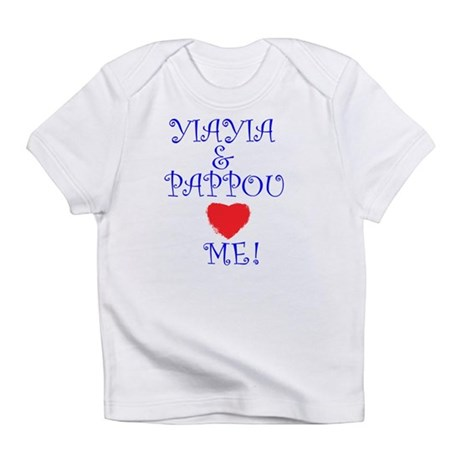 YIAYIA AND PAPPOU LOVE ME Infant T-Shirt