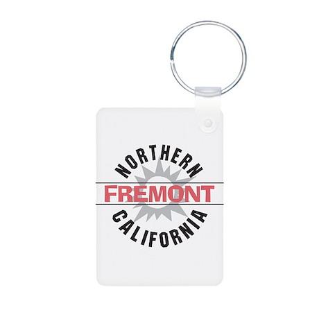 Fremont California Aluminum Photo Keychain