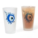 Evil eye Drinking Glass