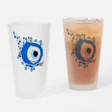 MATI-GREEK EYE Drinking Glass