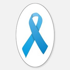 Light Blue Ribbon Decal