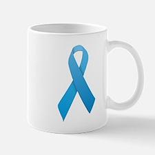 Light Blue Ribbon Mug