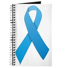 Light Blue Ribbon Journal