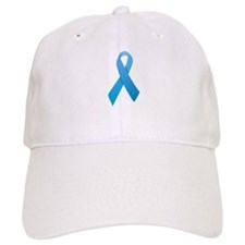 Light Blue Ribbon Baseball Baseball Cap