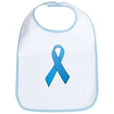 Light Blue Ribbon Bib