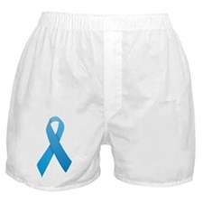 Light Blue Ribbon Boxer Shorts