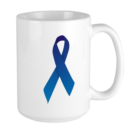 Blue Ribbon Large Mug