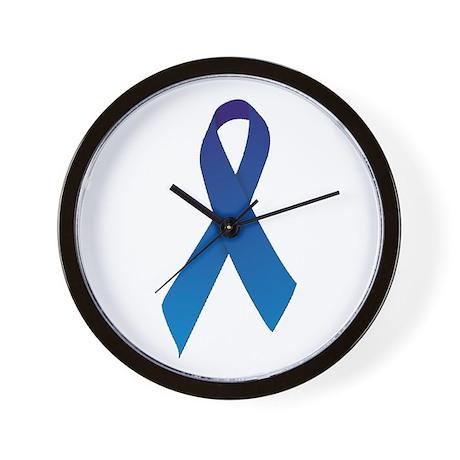 Blue Ribbon Wall Clock