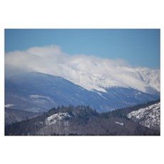 New Hampshire Mountains Canvas Art
