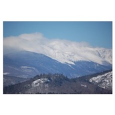 New Hampshire Mountains Poster