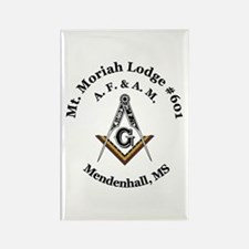 Mt Moriah Lodge #601 Rectangle Magnet