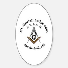 Mt Moriah Lodge #601 Decal