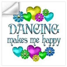 Dancing Happiness Wall Decal