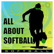 2011 Softball 36 Poster