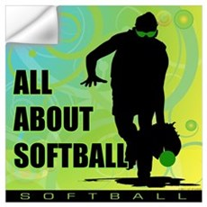 2011 Softball 36 Wall Decal