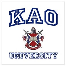 KAO University Poster