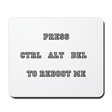 Press Ctrl Alt Del Mousepad