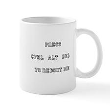 Press Ctrl Alt Del Mug