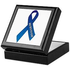 Blue Ribbon 'Survivor' Keepsake Box