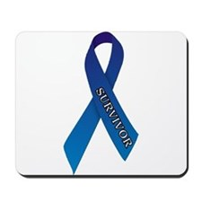 Blue Ribbon 'Survivor' Mousepad