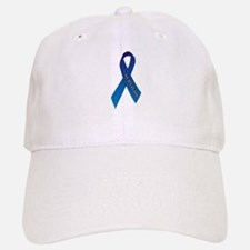 Blue Ribbon 'Survivor' Baseball Baseball Cap
