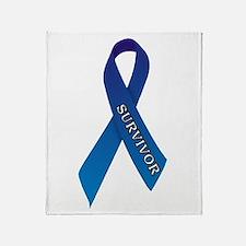 Blue Ribbon 'Survivor' Throw Blanket