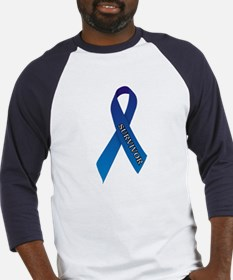 Blue Ribbon 'Survivor' Baseball Jersey