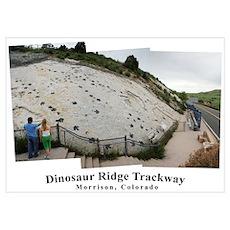 Dinoaur Ridge Trackway Poster