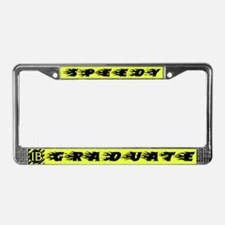Speedy IB Graduate License Plate Frame