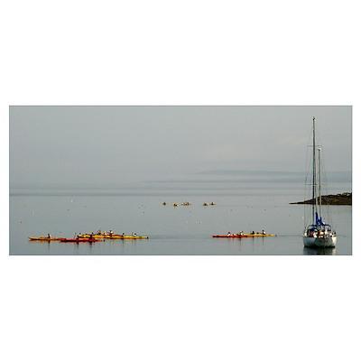 Bar Harbor Kayaks Poster
