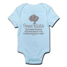 Protect Elephants Infant Bodysuit